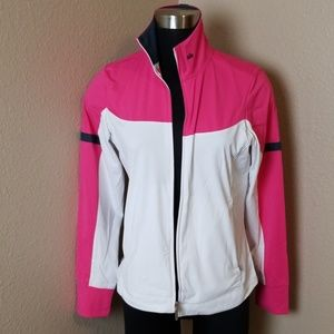 Nike Golf Full Zip Color Block Jacket